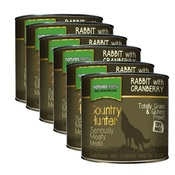 Natures Menu - Rabbit Cranberry Wet Food Dog Food x 6