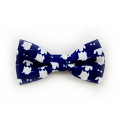 Teddy Maximus - Teddy Maximus Navy Dog Bow Tie