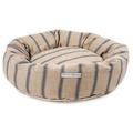 Navy Nordic Stripe Donut Bed 2