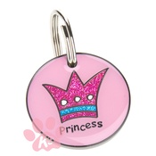 K9 - K9 Small Princess Cat ID Tag