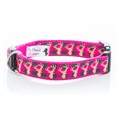 Pink Heritage Stag Collar