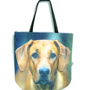 DekumDekum - Acadia the Rhodesian Ridgeback Dog Bag