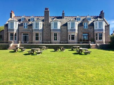Kilmarnock Arms Hotel, Aberdeenshire, Cruden Bay