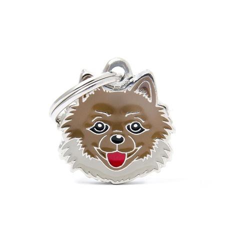 Pomeranian Engraved ID Tag