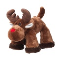 Big Paws Reindeer Squeaky Dog Toy