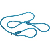 Hem & Boo - Reflective Mountain Rope Slip Dog Lead - Pale Blue