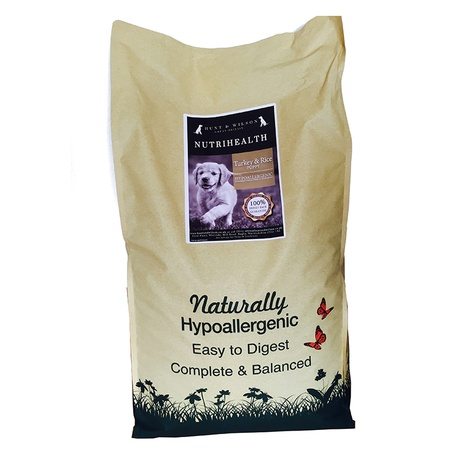 NutriHealth Puppy Turkey & Rice 12kg