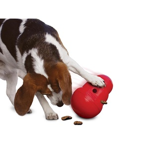 Kong Wobbler Rubber Toy – Red