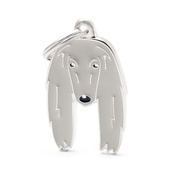My Family - Afghan Hound Engraved ID Tag