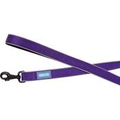 Hem & Boo - Reflective Padded Dog Lead - Purple