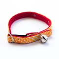 Sunset Red Cat Collar