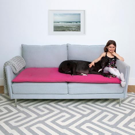 Wool Sofa Topper - Peony