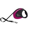 Flexi Collection Retractable Dog Lead – Pink & Black