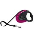 Flexi Collection Retractable Dog Lead – Pink & Black
