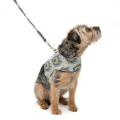 Mutts & Hounds - Peacock Linen Soft Dog Harness