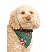 Pet Pooch Boutique - Green Rudolph Dog Bandana
