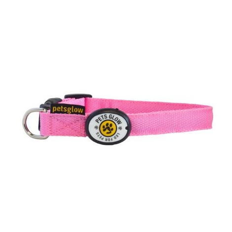 Outshined LED Dog Collar - Pink 2