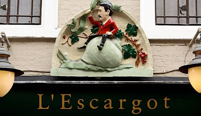 L'Escargot London
