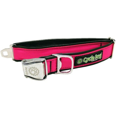 Hot Pink Max Reflective Dog Collar