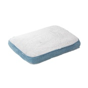 House of Paws - Blue Twist Cord Plush Dog Mattress