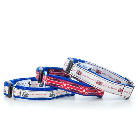 """Best of British Dog Collar 1"""" Width 2"""