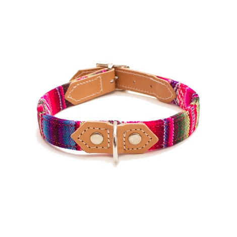 Pink INCA Dog Collar