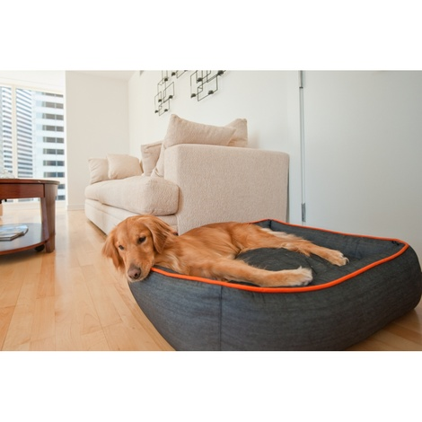 Urban Denim Lounge Dog Bed 6