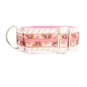 "Let Sleeping Dogs Lie - Paris Sighthound Collar 1.5"" Width"