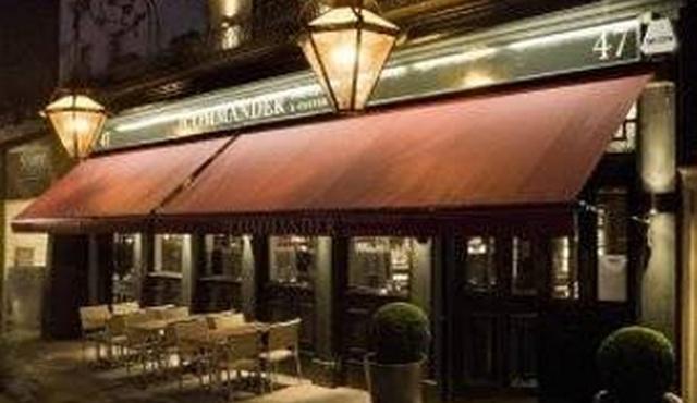 The Commander Porterhouse + Oyster Bar