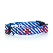 "Pet Pooch Boutique - Anchors Away Collar  1"" Width"