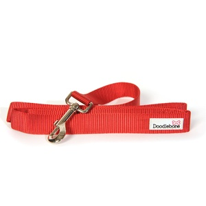 Bold Dog Lead – Red
