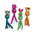KONG Wubba Ballistic Friend Dog Toy - Hippo 2