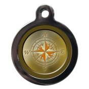 PS Pet Tags - Compass Pet ID Tag