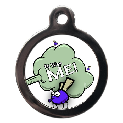 It Was Me Dog ID Tag