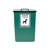 PetsPyjamas - Dog Waste Bin – Green