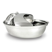 Pioneer Pet - Rain Drop Stainless Steel Pet Drinking Bowl