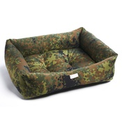 Pet Pooch Boutique - Forest Camouflage Dog Bed