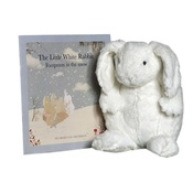 White Rabbit - Rabbit Soft Toy and Book
