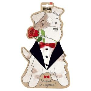 Toggles Tuxedo Dog Bandana