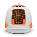 'The Igloo' for Cats - Sunset Orange