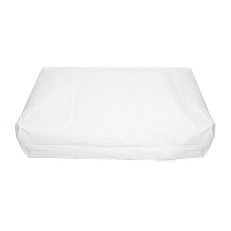 Personalised Grey Denim Dog Bed 6