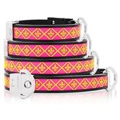 Cool Dog Club - Cool Dog K9 Striker MK2 Fleur De Lis Pink Dog Collar