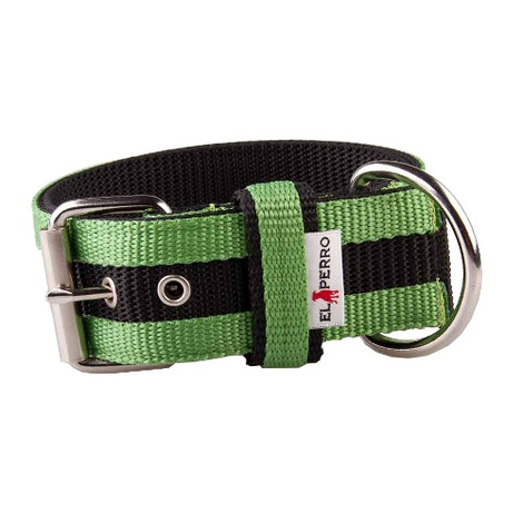 Juicy Strip Dog Collar - Lime