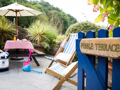 Pebble Suite at The Cary Arms, Devon, Torquay