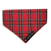 Ditsy Pet - Highland Tartan Slip on Bandana