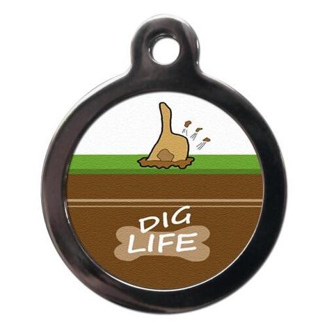 Dig Life Pet ID Tag