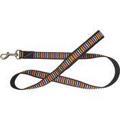 Hem & Boo - Striped Adjustable Dog Lead - Multi