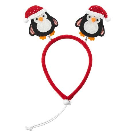 Christmas Penguin Dog Headband