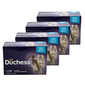 Kennelpak - Duchess Fish Selection in Jelly Cat Food x 12