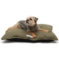 Forest Green Tweed Pillow Bed 2